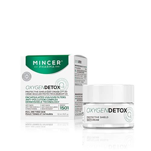 Mincer pharmaceutique Oxygen Detox Crème de jour anti-rides Detox Complexe pour Gris et les peaux fatiguées SPF20 50 ml