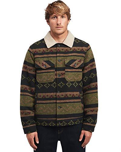 BILLABONG™ Barlow - Sherpa Jacket for Men - Sherpa Jacke - Männer - S - Schwarz