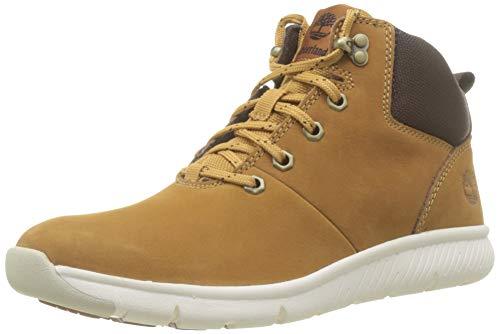 Timberland Unisex-Kinder Boltero Hiker Klassische Stiefel, Gelb (Wheat Nubuck), 39 EU