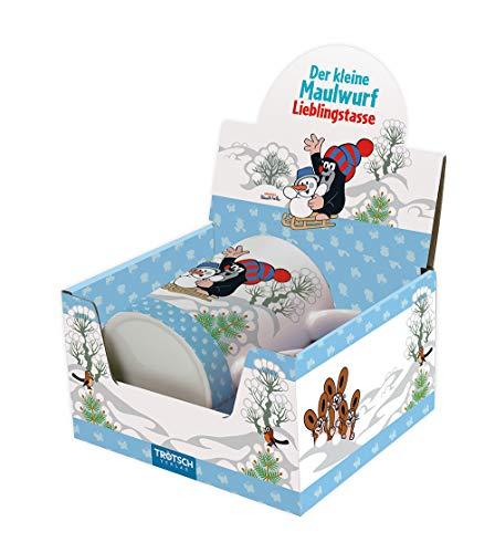 Trötsch Der kleine Maulwurf Wintertasse Maulwurf: Aus Porzellan mit Geschenkverpackung