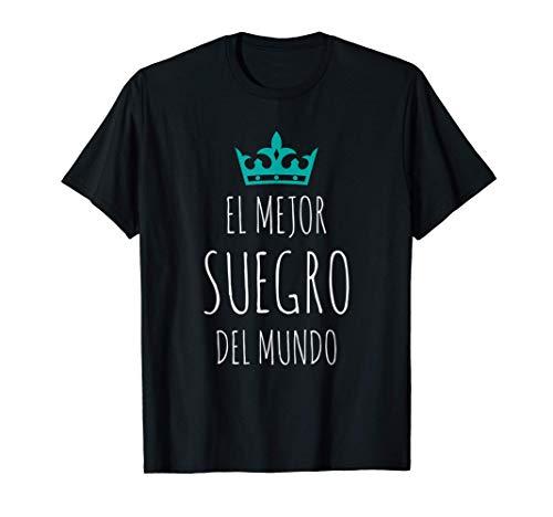Hombre El Mejor Suegro del mundo Súper regalo Día del Padre Camiseta