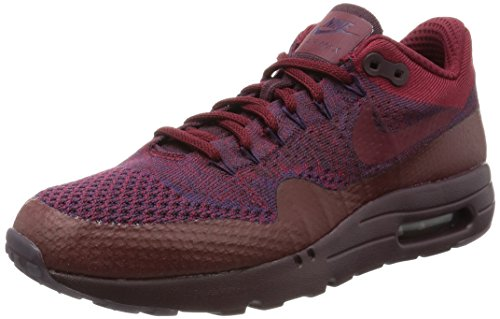 Nike Air Max 1 Ultra Flyknit Mens Running Trainers 856958 Sneakers Shoes (US 11, grand purple team red 566)