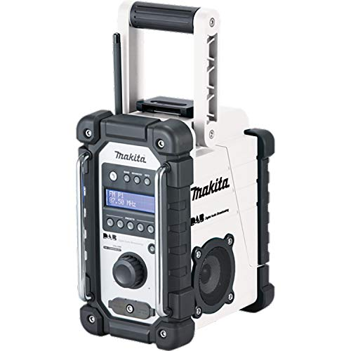 Makita DMR109W DAB radio–Bianco