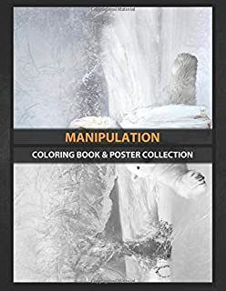Coloring Book & Poster Collection: Manipulation Ice Element Fantasy