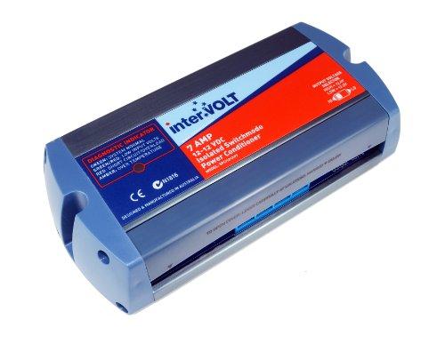 interVOLT Heavy Duty 7Amp 12V DC-DC Isolated Voltage Stabilizer / Regulator / Power Conditioner / Battery Charger (10-16 VDC Input - 12.5/13.6 VDC Output) Model SPCi121207