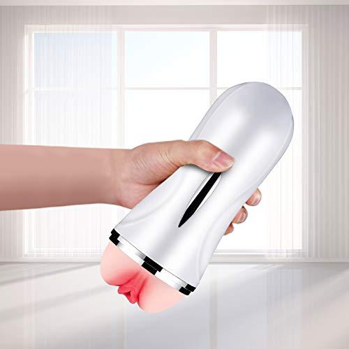 Strumento di massaggio Rimovibile: Massaggiatore a doppio canale con Particelle in Rilievo 3D (tipo Manuale)