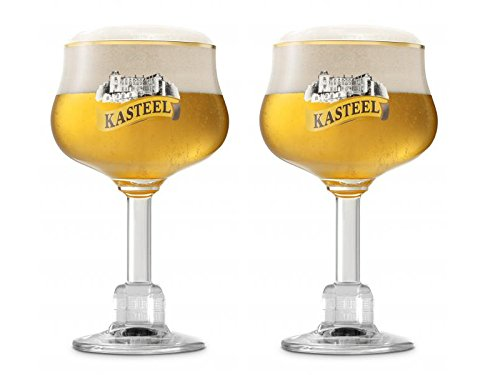 2Gläser Kasteel, Glas Bierglas Belgische
