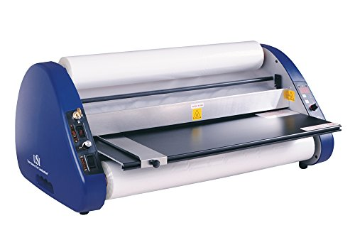 USI Thermal Roll Laminator, ARL 2700, Laminates Films up to 27 Inches Wide and 5 Mil Thick, 1 Inch Core, UL Listed, Industry Best 2-Year Warranty