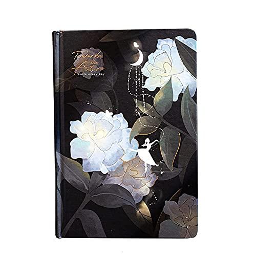 StaunchWea Diario luminoso colorido para mujeres y niñas, regalo diario personal con 224 páginas de papel grueso