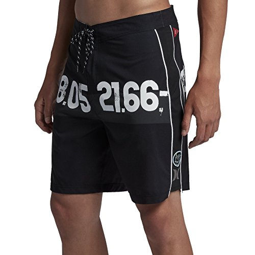 Hurley - Mens JJF Phantom Iv para Sea Boardshorts, Size: 30, Color: Black