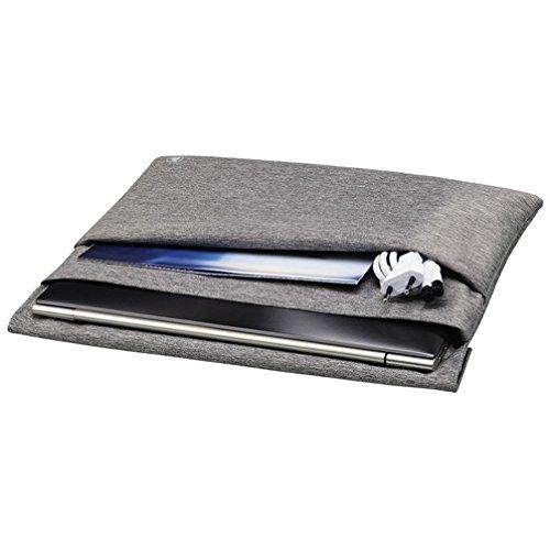 Notebook-Sleeve Slide, bis 30 cm (11,6), Grau