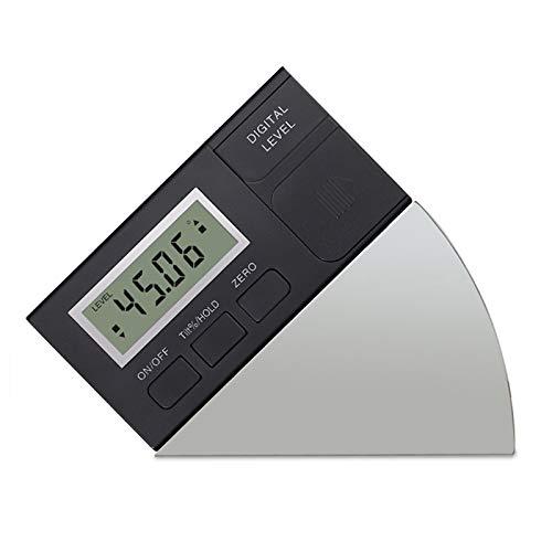 AUTOUTLET Mini Inclinómetro Digital, Transportador de Ángulo, Pantalla LCD, Base Magnética, 4x90°, Precisión ±0.2° Medidor de Ángulos Adecuado para Sierras de Mesa, Amoladoras de Banco y Taladradoras