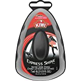 KIWI Express Shoe Shine Sponge | Leather Care for Shoes, Boots, Furniture, Jacket, Briefcase and More | Black