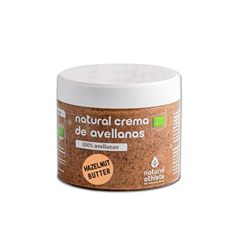 Crema de Avellanas BIO Natural Athlete Orgánica, 100%