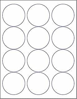 Laser/Ink Jet White Labels (2-1/2