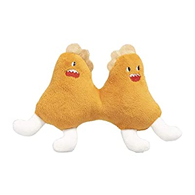 pidan Catnip Toys for Indoor Cats Interactive, Kitten Dental Health Plush Chew Toys - Bbckicken