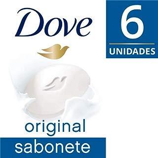 Sabonete em Barra Dove Branco 90 GR 6 unidades, Dove