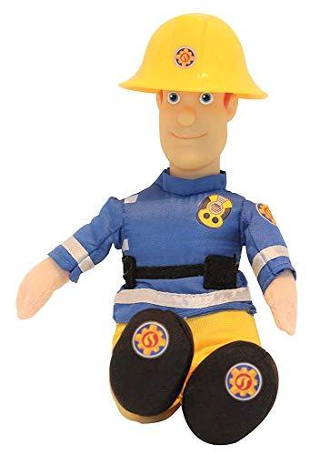 Simba Brandweerman Sam 25 cm pluche figuren voor series, om te spelen en verzamelen voor kinderen (Sam Jones)