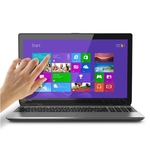 Toshiba Satellite E55T-A5320 Ultrabook 15.6' Touch Screen Laptop - 4th...
