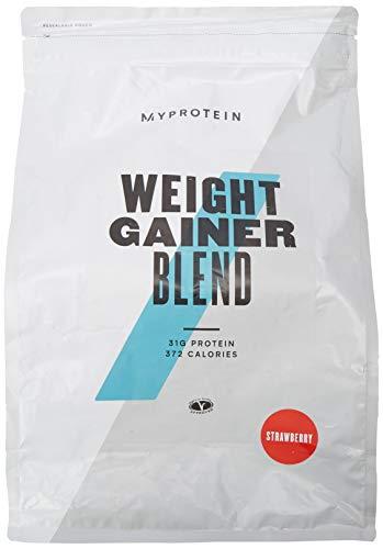 Myprotein Weight Gainer, 2500 g, Strawberry, Weight Gainer (2500g)...