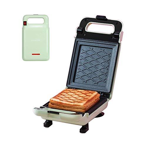 LHJCN Sandwichera, tostadora y gofrera de 600 W, Parrilla eléctrica de bajo Consumo, con indicador LED para Tostadas (tamaño: Style2)