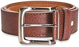 Hawkdale Mens Real Genuine Leather belts brown black Chocolate style 821 wide Buckle