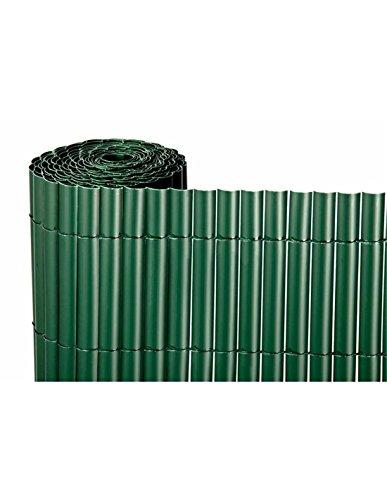 Jardin202 1x3m - Cañizo de PVC Simple Cara 900gr/m2 - Verde Oscuro - Largo: 3 Metros