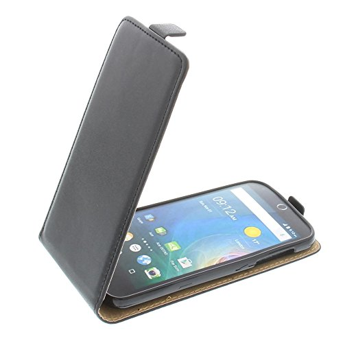 foto-kontor Tasche für Acer Liquid Z330 Liquid M330 Smartphone Flipstyle Schutz Hülle schwarz