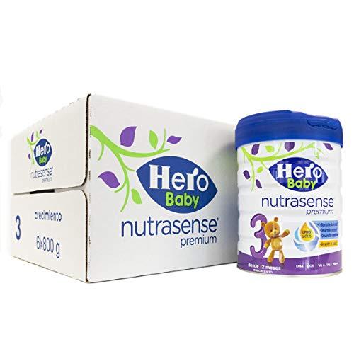 Hero Baby Leche de Crecimiento, Pack de 6