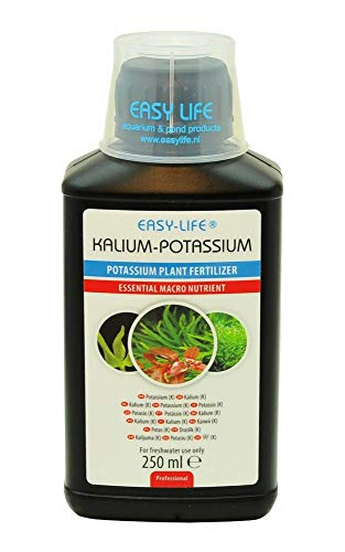 Easy Life KALIUM 250ml Potassium Dünger für Ihre Pflanzen Aquariumpflanzen
