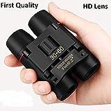Birudmart Polarized HD Professional Lightweight Pocket Size Binocular Telescope Folding 30x60 Zoom Lens