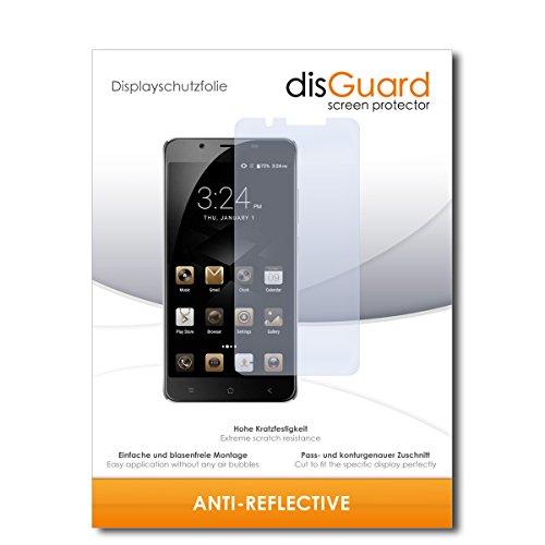 disGuard® Bildschirmschutzfolie [Anti-Reflex] kompatibel mit Blackview P2 Lite [2 Stück] Entspiegelnd, Matt, Antireflektierend, Extrem Kratzfest, Anti-Fingerabdruck - Panzerglas Folie, Schutzfolie