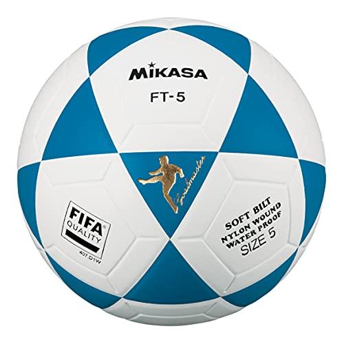 Mikasa FT5 FQ B, Spezial-Fußball, Unisex, für Erwachsene, Hellblau, 5