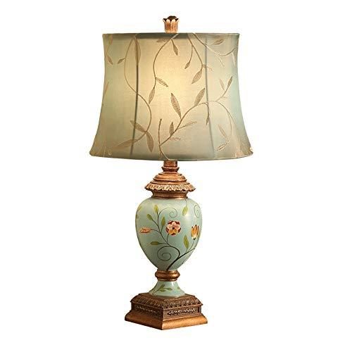 FWTD 2019 ultima lampada da tavolo lampada da tavolo in tessuto americano lampada da comodino camera da letto creativa retrò stile europeo giardino di mare lampada da tavolo soggiorno sorgente luminos