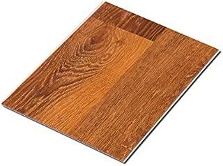 Cali Bamboo - Cali Vinyl Pro Commercial Vinyl Flooring, Extra Wide, Saddlewood Brown Wood Grain - Sample Size 6