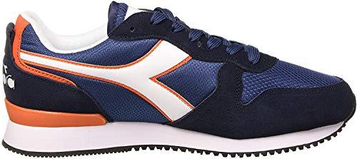 Diadora Olympia, Zapatillas de Deporte para Hombre, Azul (Ensign Blue 60030), 39 EU