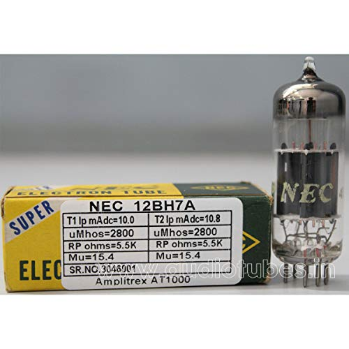 1pc 12BH7A NEC Amplitrex Tested #3046001