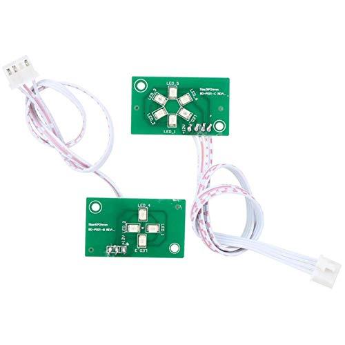 DAUERHAFT Tablero de Control Dual del Sistema de la Vespa de Equilibrio de la Alta(36V-CE Power-on Self-Balancing)