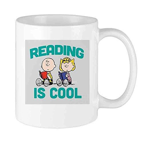 N\A Lustige Kaffeetasse Charlie & Sally Brown-Re Benutzerdefinierte Tasse Einzigartige Keramik Neuheit Männer & Frauen, die Teetassen & Kaffeetasse 11oz lieben