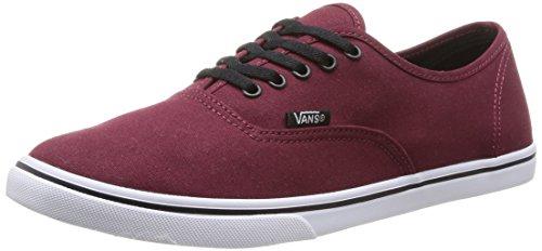 Vans AUTHENTIC LO PRO Unisex-Erwachsene Sneakers, Rot (Tawny Port/True White), 36