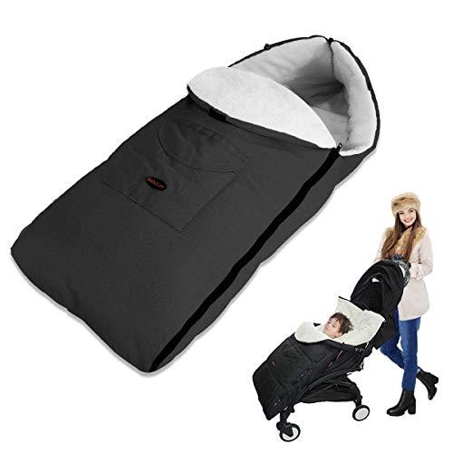 auvstar Saco de Dormir Térmico Universal para Bebé,Saco para silla de Paseo,Sacos...
