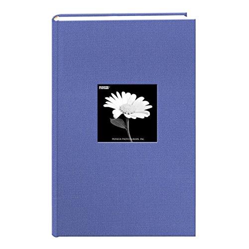 Pioneer 300 Pocket Fabric Frame Cover Photo Album, Sky Blue