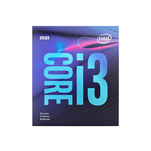 Intel Core i3-9100F Desktop processor (4 Core tot 4,2 GHz zonder processorgrafiek LGA1151 300 Series 65W alleen de processor SZ L cocoa