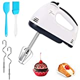 [Upgrade]Hand Held Mixer Electric Kitchen Whisk Portable Hand Mixer 7-Speeds Food Baking Mixers with...