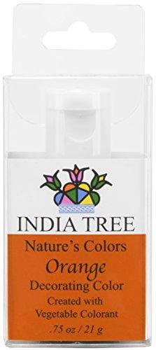 India Tree Natural Decorating Colour - Orange