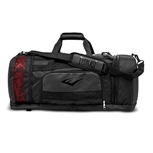 Everlast P00001578 Contender Duffle Bag, Schwarz
