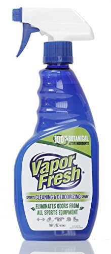 Vapor Fresh Natural Cleaning and Deodorizing Spray - Great For Sports Pads, Boxing Gloves, Gym Equipment, Yoga Mats, Shoes And More, 16 Ounces (1-Pack)