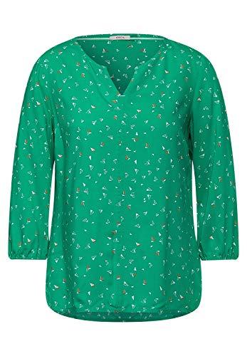 Cecil Damen Bluse mit Minimal Print Spearmint Green XXL