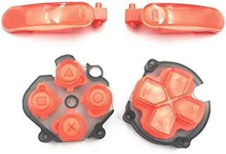 $20 » Replacement L R Buttons ABXY Key D-Pad Direction Button Left Right Trigger Button for PS Vita 2000 PSV 2000 Console Red