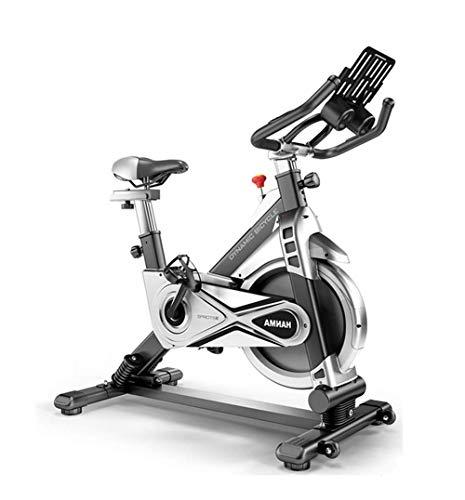 YAMMY Cyclette oscillante Ultra silenziosa Home Smart Controllo Magnetico Spinning Bike Indoor Pedale Cyclette Dimagrante Attrezzatura per Il Fitness, SMA (Cyclette)